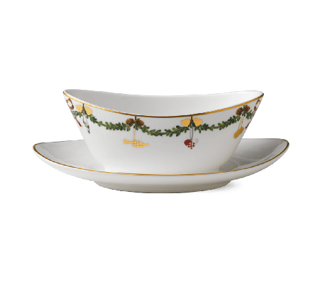Royal Copenhagen Stjerne Riflet Christmas Sauce Bowl 43 cl. Levering mai -21.