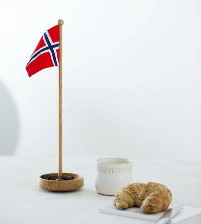 Spring Copenhagen Bordflagg Norsk