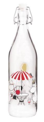 Mummi Glassflaske – Sommer (1,0 L)