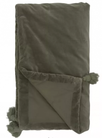 Halvor Bakke Sengeteppe 140x240 cm Dusty Olive