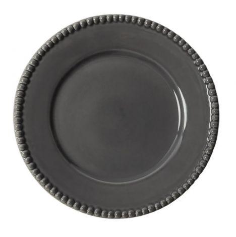 PotteryJo Daria Steintøy Middagstallerken Clean Grey 28cm 2-stk