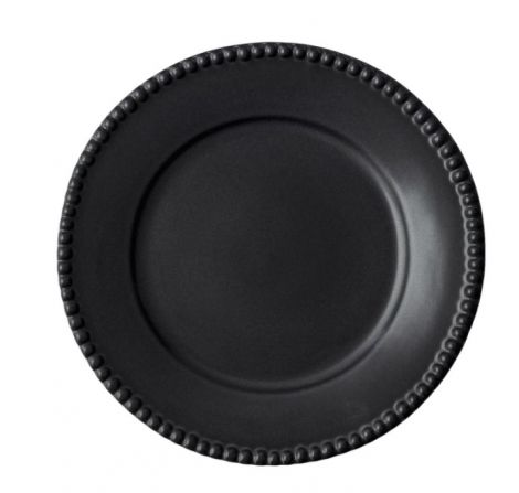 PotteryJo Daria Steintøy Middagstallerken Ink Black 28cm 2-stk
