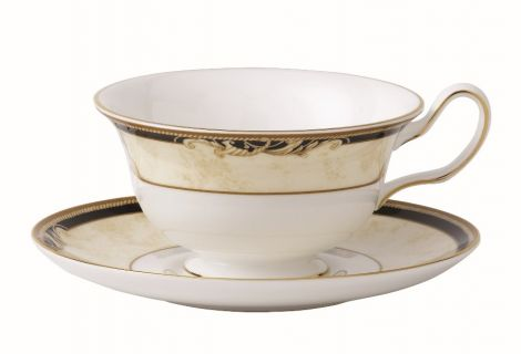 Wedgwood Cornucopia Tea Cup & Saucer Leigh
