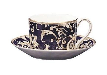 Wedgwood Cornucopia Teacup & Saucer Imperial