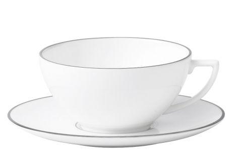 Wedgwood Jasper Conran Platinum Tea Cup and Saucer