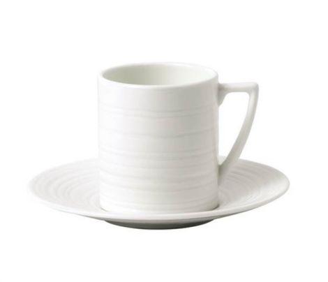 Wedgwood Jasper Conran Strata Coffee Cup and Saucer