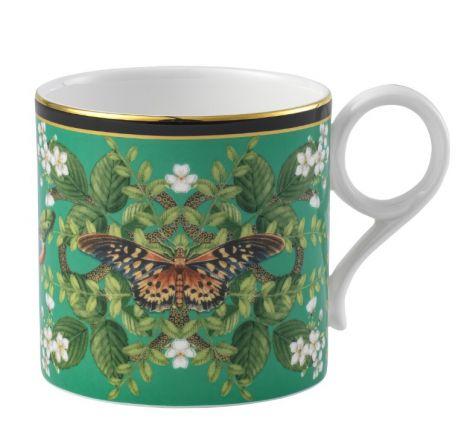 Wedgwood Wonderlust Emerald Forest Mug. Levering juni -21.