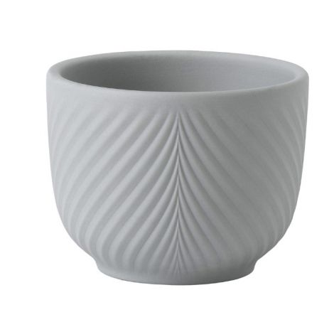 Wedgwood Folia Mini Pot Dove Grey 8,2 cm