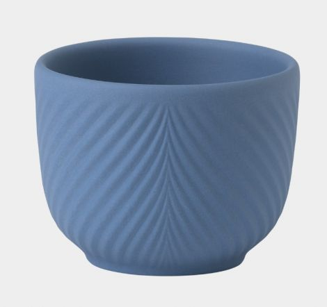Wedgwood Folia Mini Pot Pale Blue 8,2 cm