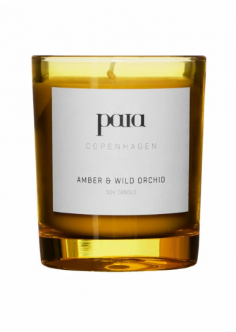 Paia Copenhagen Duftlys Amber & Wild Orchid