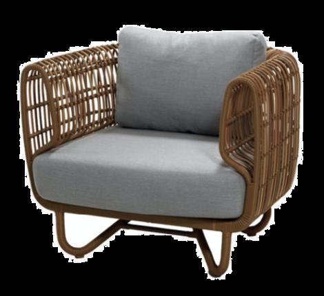 Cane-line Nest lounge stol Natur
