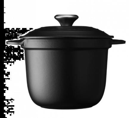 Le Creuset Cocotte Every Rice Gryte Matt Svart 2L