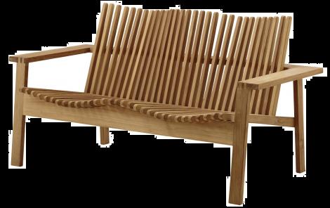 Cane-line Amaze 2 seter sofa stablebar