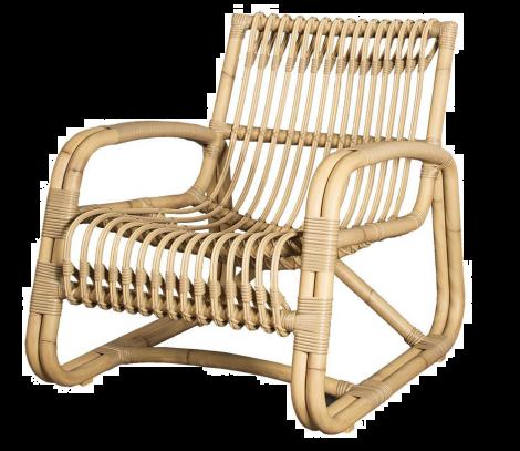 Cane-line Curve lounge stol