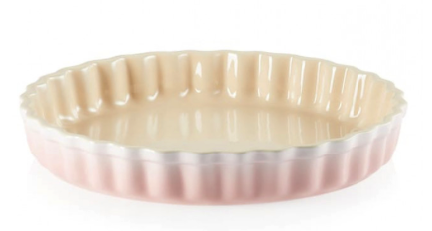 Le Creuset Paiform i Stentøy Shell Pink 28cm