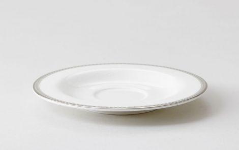 Royal Porcelain Silver Paisley Skål til Kaffekopp