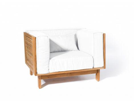 Skargaarden Skanör Lounge Chair m/ hvite puter