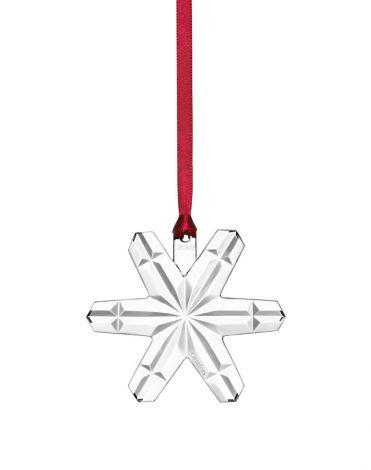 Orrefors Annual Ornament Snøflak Julepynt