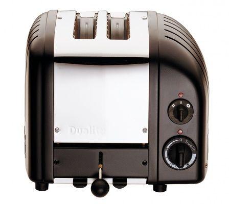 Dualit Toaster 2 Slices Newgen Black