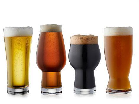Lyngby glass Spesielt ølglass 4 stk.