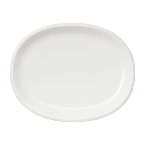 Iittala Raami serveringsfat oval 35cm hvit