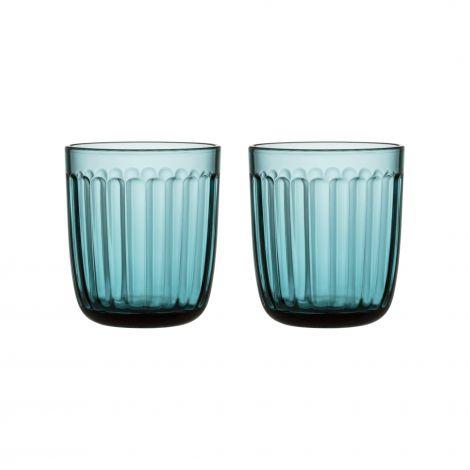 Iittala Rammeglass 26cl sjøblå 2-pk