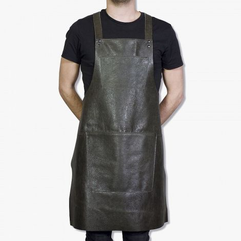 Dutchdeluxes Suspender Forkle Skinn Vintage Grey