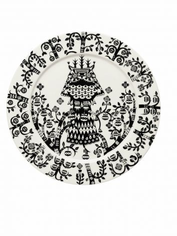 Iittala Taika plate svart 27cm