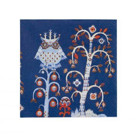 Iittala Taika serviett 33x33cm blå