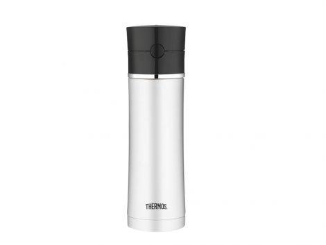 Thermos Sipp Drikkeflaske 530 ml Stål/svart