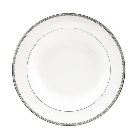 Wedgwood Vera Wang Lace Platinum Suppe / Pastatallerken 23cm