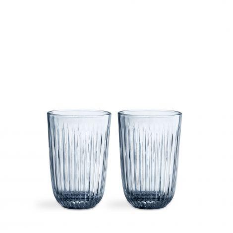 Kähler Hammershøi glass 40 cl 2 stk indigo