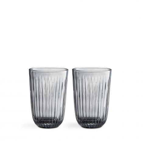 Kähler Hammershøi glass 40 cl 2stk røyk