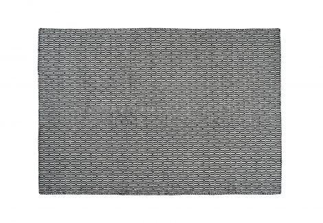Linie Design Tile Hvit / Svart 140/200