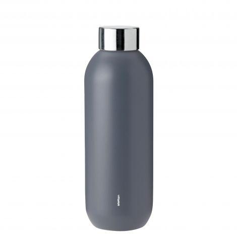 Stelton Keep Cool Drikkeflaske 0,6L Granite Grey