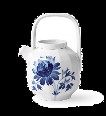 Royal Copenhagen Blomst Tekanne Trepion 100 cl