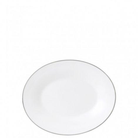 Wedgwood Vera Wang Blanc sur Blanc hvit sausbåtstativ