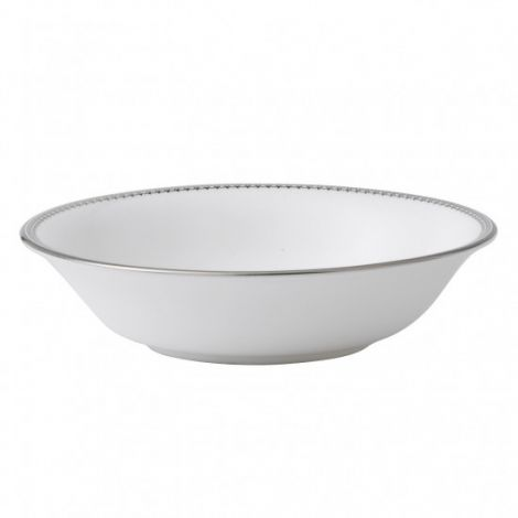 Wedgwood Vera Wang Lace Platinum Cereal Bowl 16cm. Levering januar 2021.