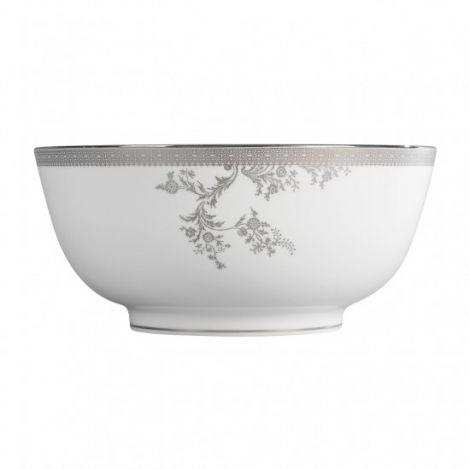 Wedgwood Vera Wang Lace Platinum Salatskål 25cm