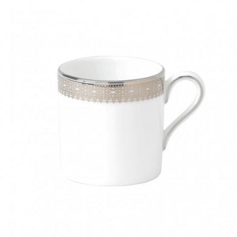 Wedgwood Vera Wang Lace Platinum Espresso Cup