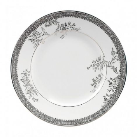 Wedgwood Vera Wang Lace Platinum plate 20cm