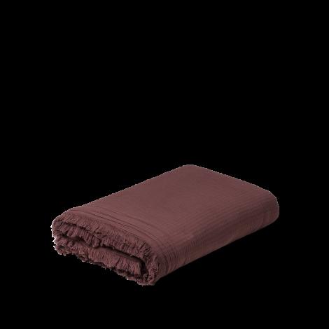 Juna View Pledd Sjokolade 130x190 cm