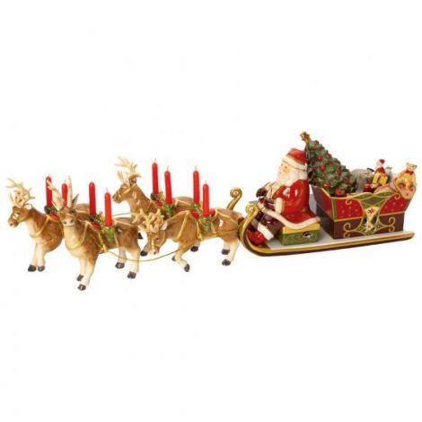 Villeroy & Boch Christmas Toys Memory Julenissens Slede