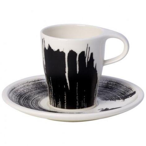 Villeroy & Boch Coffee Passion Awake Doppio Espresso Cup med tallerken