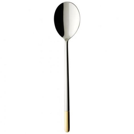 Villeroy & Boch Ella partially gold plated Dessertskje 186mm