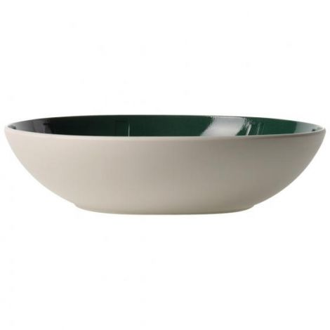 Villeroy & Boch It's My Match Green Serving Bowl Leaf 26 cm