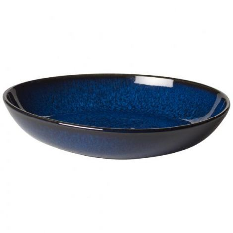 Villeroy & Boch Lave Bleu Small Shallow Bowl 22x21 cm