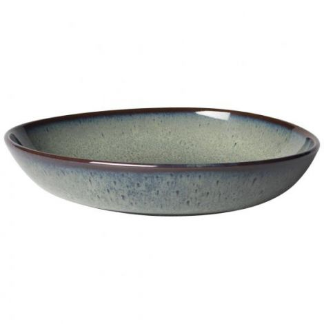 Villeroy & Boch Lave Gris Small Shallow Bowl 22x21 cm