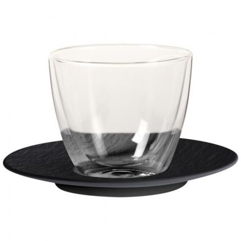 Villeroy & Boch Manufacture Rock kaffe latte sett