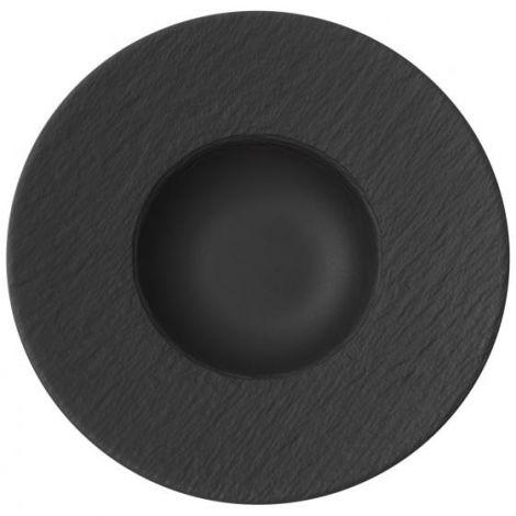 Villeroy & Boch Manufacture Rock Pasta Plate Black 29 cm